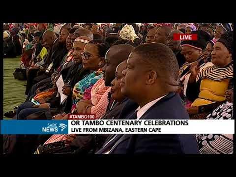 OR Tambo centenary celebrations: President Zuma's keynote address