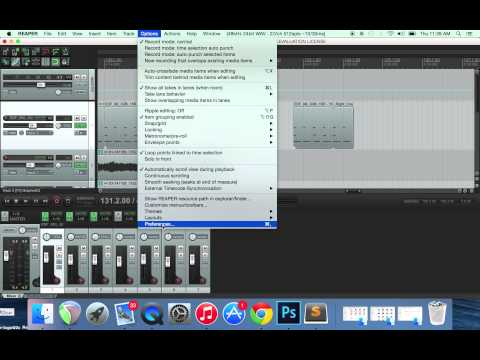 How to fix a latency issue in reaper recording program  - YouTube