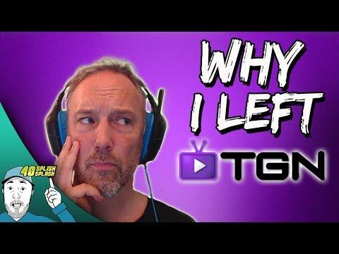 WHY I LEFT TGN NETWORK!