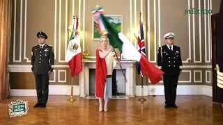 'Grito de Dolores'. Ceremonia Cívica 211° aniversario de la Independencia de México. Reino Unido