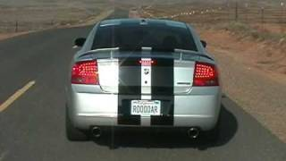 2007 Dodge Charger SRT8 Supercharged Test Run