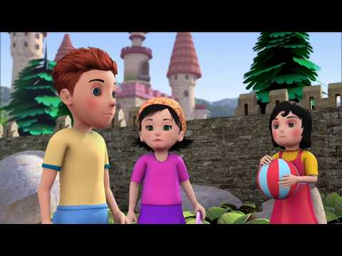 The Friendly Or Selfish Giant | 3d Animated Story | Stories In English