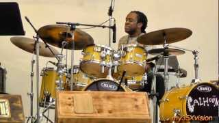 Will Calhoun ~ Marc Cary ~ John Benitez in Somerville Jazz Festival September 9, 2012 ( Part 3 )