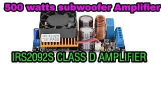 Download Diy Test 500w Power Amplifier Tl494 Class D Mosfet