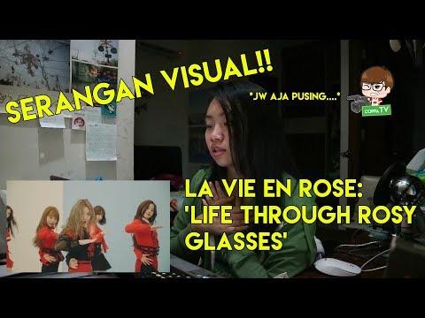 IZ*ONE 'La Vie En Rose' MV Reaction [LAGUNYA ENAK BANGET!!]