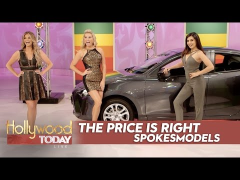 Exclusive With The Models Of 'The Price Is Right'