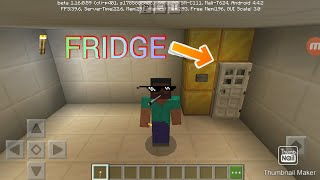 HOW TO MAKE A FRIDGE IN MINECRAFT YouTube
