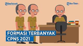 Daftar Formasi Terbanyak CPNS 2021