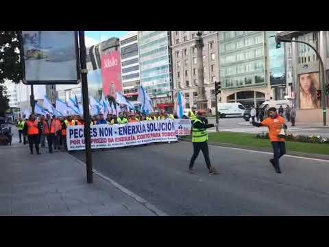 Los trabajadores de Alcoa se movilizan en A Coruña