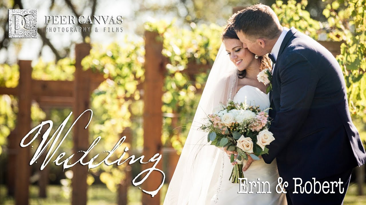 DC Estate Winery Wedding Video by Peer Canvas Photography & Films Erin and Robert