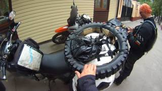 Motorcycle trip to Mongolia, day 10, plan changes