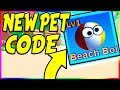 watch he video of NEW BEACH BOI PET CODE IN MINING SIMULATOR! | Roblox