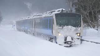 JR東日本 五能線 GV-E400系・HB-E300系(2021年)