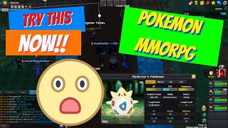 TRY THIS GAME RIGHT NOW!! - PokeONE (FREE online Pokemon MMORPG)