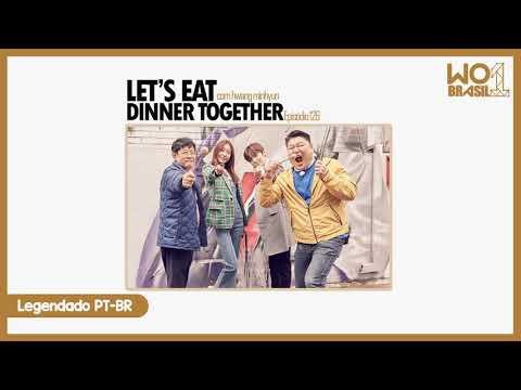 [PT-BR] Hwang Minhyun - Let's Eat Dinner Together (15.05.19) [LINK DESCRIÇÃO]