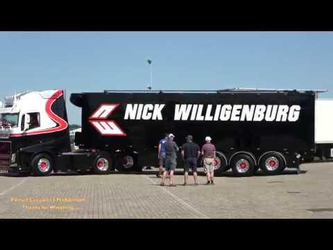 Nice Volvo FH4 510 LOUD SOUND 💨 - Nick Willigenburg Transport