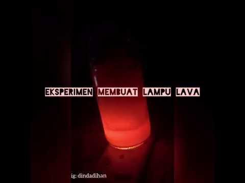 PRAKTIKUM IPA DI SD - Eksperimen Membuat Lampu Lava