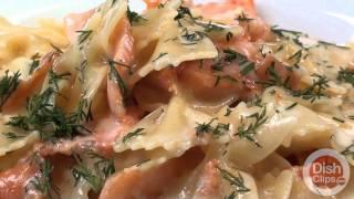 Kpasta - Bowtie Pasta With Smoked Salmon