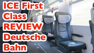ICE First Class Review | Intercity Express 954 from Hannover to Cologne, Germany | Vlog # 11