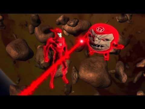 Red Lanterns battle Green Lanterns in GL:TAS Beware My Power