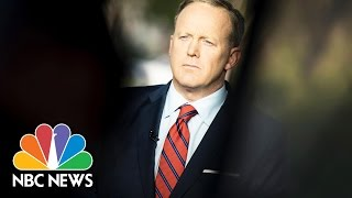 100 Days Of Sean Spicer Press Briefings | NBC News