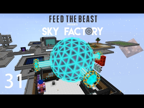 Sky Factory 3 w/ xB - POWER STORAGE BALL [E31] (Minecraft Modded Sky Block)