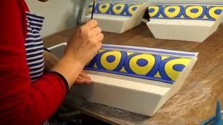 Интервью о процессе изготовления керамических каминов компании Керамика Декор.