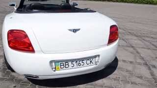 Replica Bentley GT out of a chrysler sebring. Копия бентли