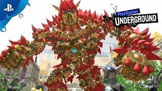Knack 2 - PS4 Gameplay | PlayStation Underground