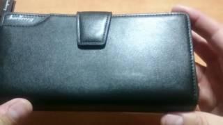 Обзор Baellerry Business   мужское портмоне клатч кошелек!