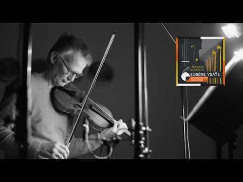 Thomas Bowes Ysaye Sonatas Short Promo Video