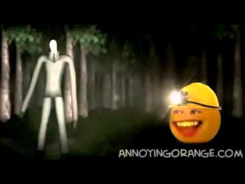 La naranja molesta VS Slenderman