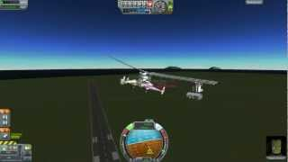 Kerbal Space Program - 100% Stock Helicopter