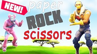 *NEW* WINTER ROCK PAPER SCISSORS MAP! W/ SSundee Nico and Crainer!
