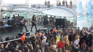 Cannibal Corpse - Addicted to Vaginal Skin (Live) 70000 Tons of Metal 2015