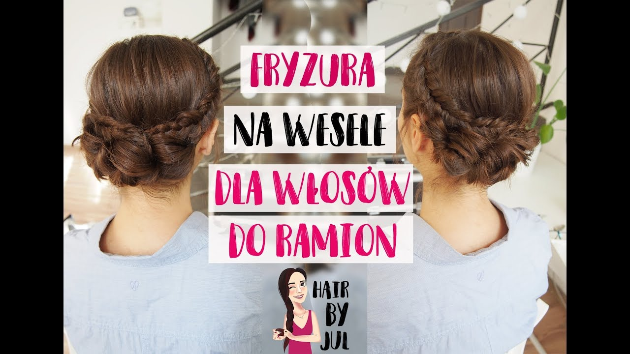 Fryzura Na Wesele Dla Włosów Do Ramion