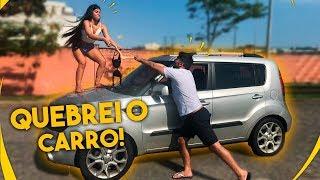 DESCOBRI TRAICAO E QUEBREI O CARRO DELE !!