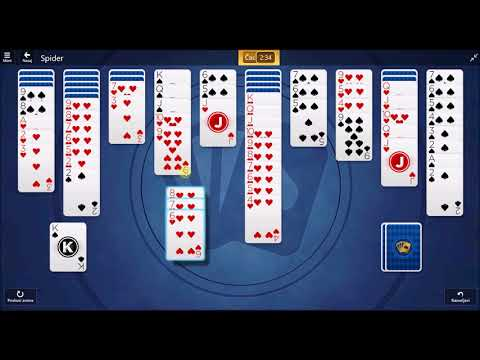 Microsoft Solitaire Collection - Spider September 16 2017