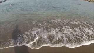 swimming in the Atlantic Ocean. купание в Атлантическом океане.