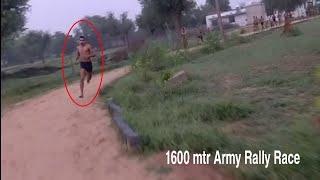 1600 mtr Army Bharti Rally Race 2019