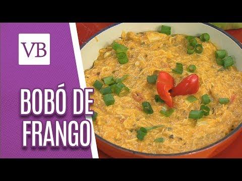 Bobó de Frango com Caldo de Legumes e Cebola Recheada - Você Bonita (02/07/18)
