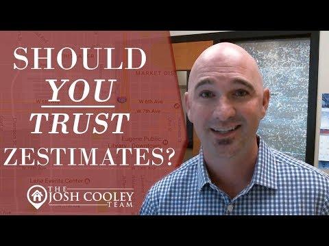 Eugene Oregon Real Estate Agent: Should You Trust Zestimates?