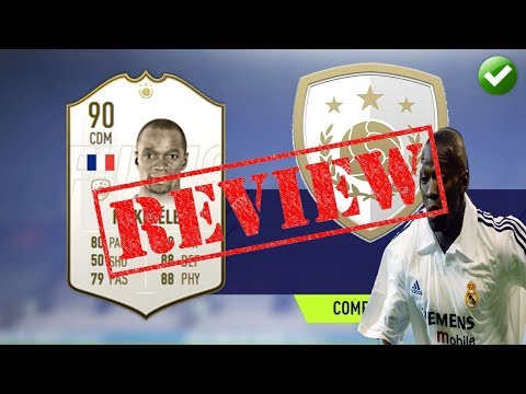 FIFA 19 PLAYER REVIEW   PRIME ICON 90 MAKELELE   IS HE WORTH IT?