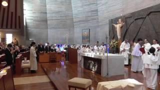 聖アウグスチノ修道会司祭叙階式1