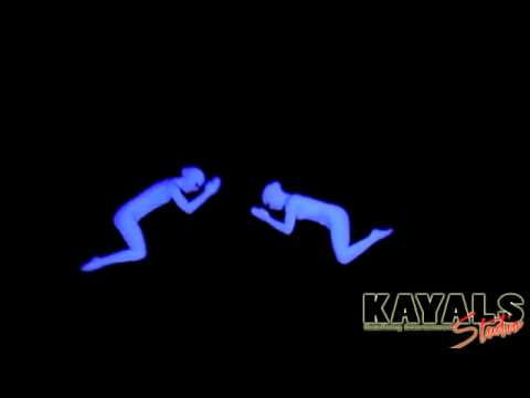 UV Act / Black Light Show by best dance troupe groupe  delhi india for carporate show