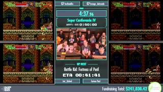 Awesome Games Done Quick 2015 - Part 60 - Super Castlevania IV by Various Runners
