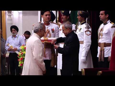 Bharat Ratna And Padma Awards At Rashtrapati Bhavan On 30-3-2015