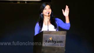 Heroine Sanchita Shetty @Soodhu Kavvum Audio Launch