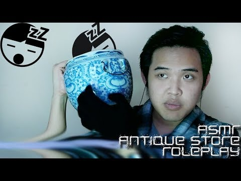 ASMR ANTIQUE STORE ROLEPLAY || (PENJUAL BARANG ANTIK ROLEPLAY)||ASMR INDONESIA