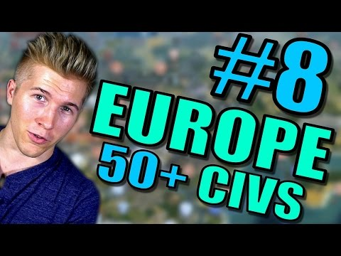 Civilization 5 Gameplay [Civ 5] Brave New World | Europe AI ONLY 50+ Civs Mods | Part 8